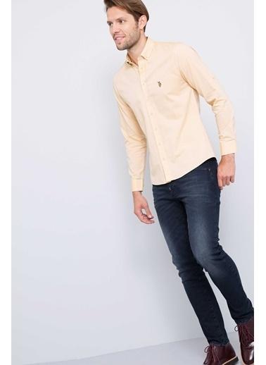 Slim Fit Uzun Kollu Gömlek-U.S.Polo Assn.